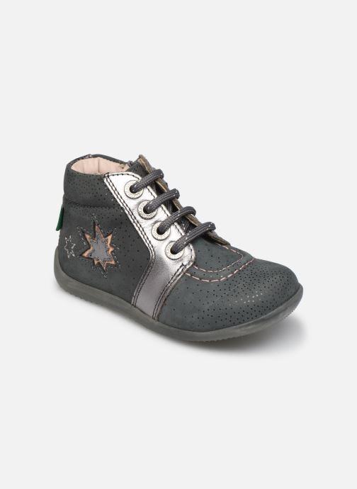 Bottines et boots Kickers Be Power Gris vue détail/paire