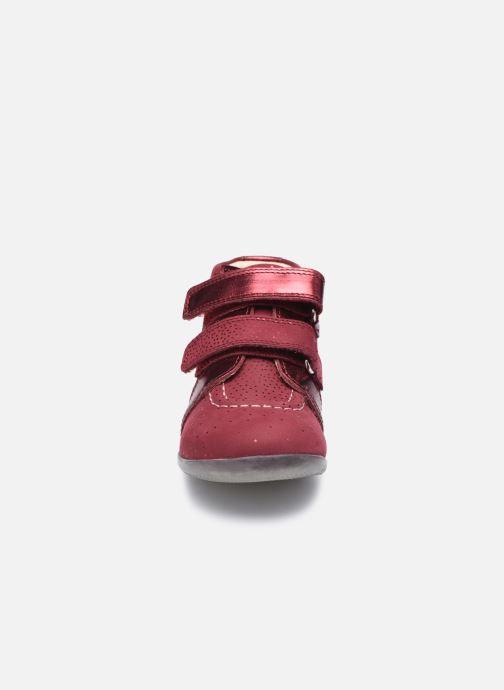 Stiefeletten & Boots Kickers Banggy weinrot schuhe getragen