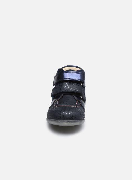 Bottines et boots Kickers Banggy Bleu vue portées chaussures