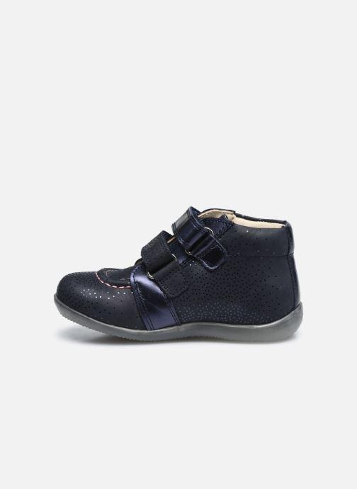 Bottines et boots Kickers Banggy Bleu vue face