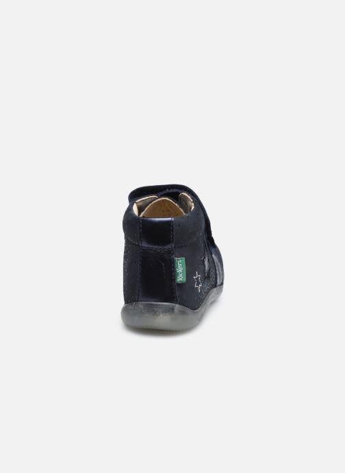 Stiefeletten & Boots Kickers Banggy blau ansicht von rechts