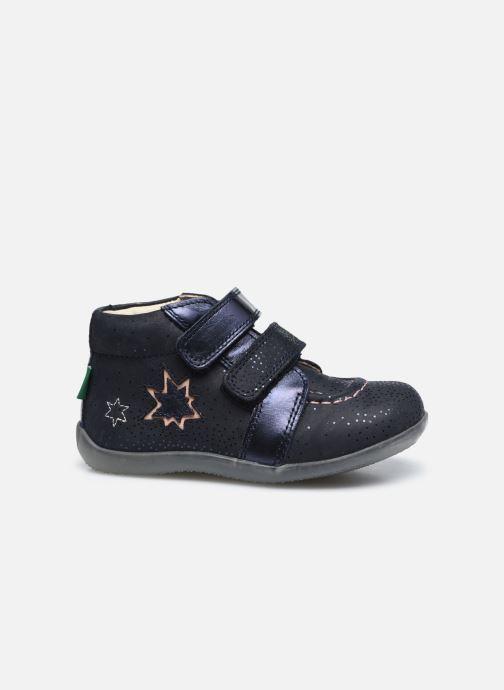 Bottines et boots Kickers Banggy Bleu vue derrière