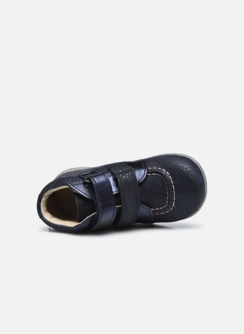 Bottines et boots Kickers Banggy Bleu vue gauche