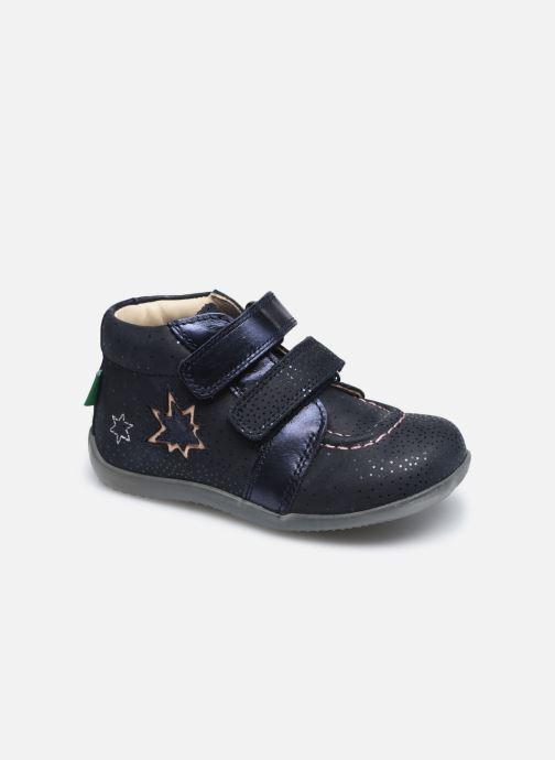Bottines et boots Kickers Banggy Bleu vue détail/paire