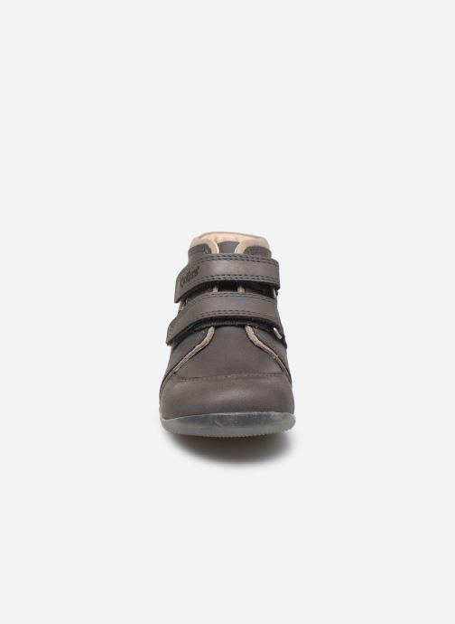 Stiefeletten & Boots Kickers Biboy Power grau schuhe getragen