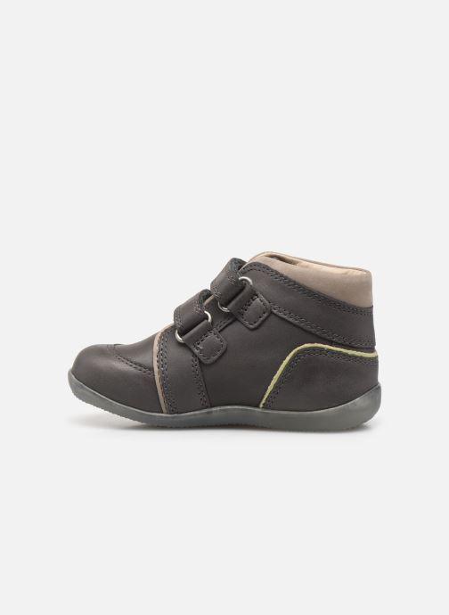 Stiefeletten & Boots Kickers Biboy Power grau ansicht von vorne
