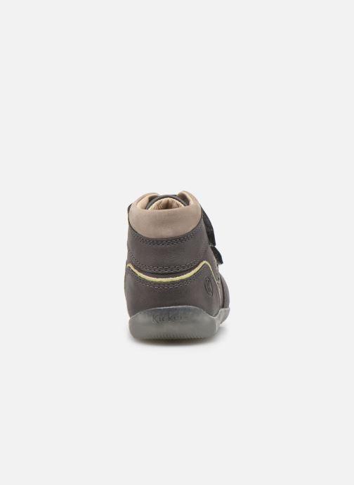 Stiefeletten & Boots Kickers Biboy Power grau ansicht von rechts