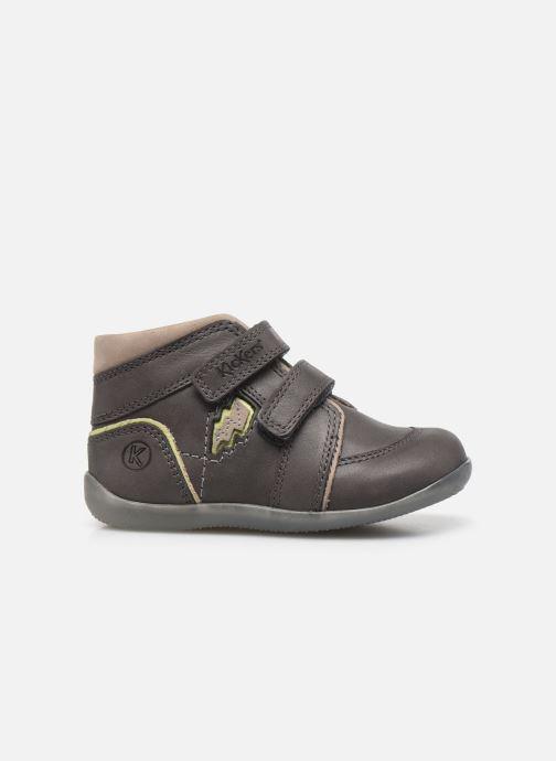 Stiefeletten & Boots Kickers Biboy Power grau ansicht von hinten
