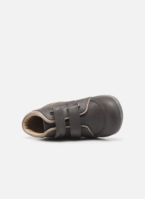 Stiefeletten & Boots Kickers Biboy Power grau ansicht von links