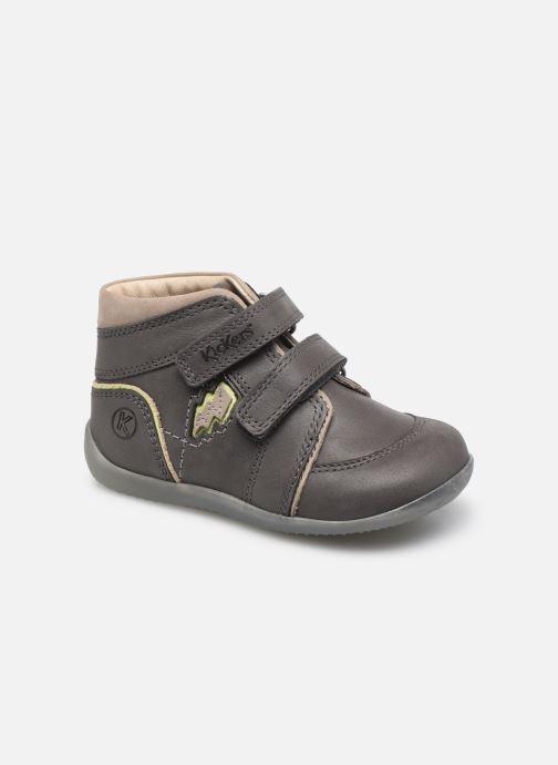 Stiefeletten & Boots Kickers Biboy Power grau detaillierte ansicht/modell
