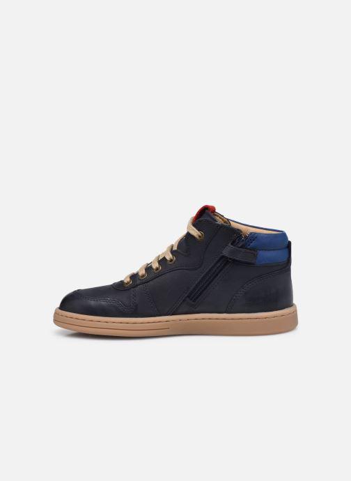 Sneakers Kickers Tackflo Azzurro immagine frontale