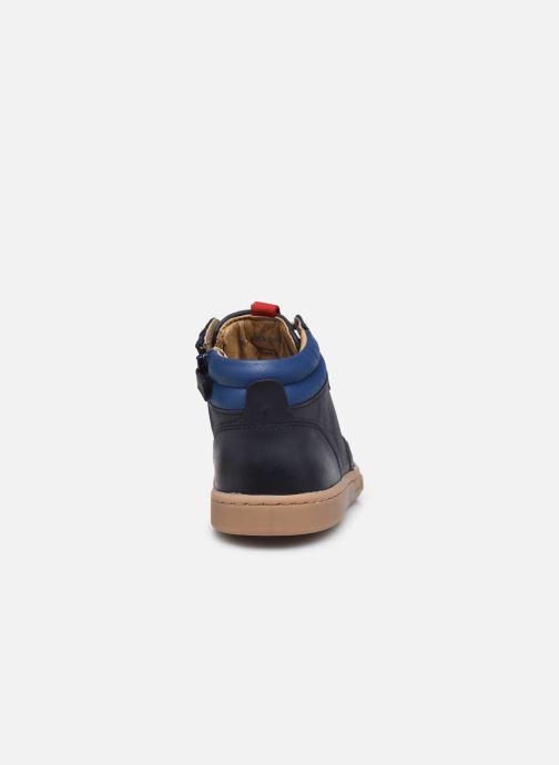 Sneaker Kickers Tackflo blau ansicht von rechts