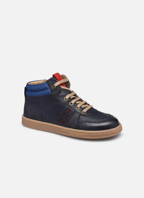 Sneakers Kickers Tackflo Azzurro vedi dettaglio/paio