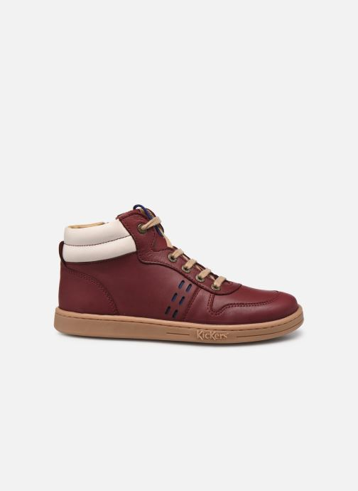 Sneakers Kickers Tackflo Bordò immagine posteriore