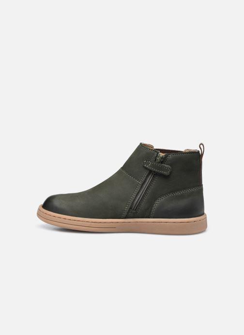 Stiefeletten & Boots Kickers Tackbo grün ansicht von vorne