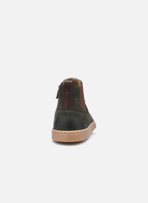 Stiefeletten & Boots Kickers Tackbo grün ansicht von rechts