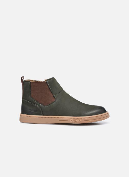 Stiefeletten & Boots Kickers Tackbo grün ansicht von hinten