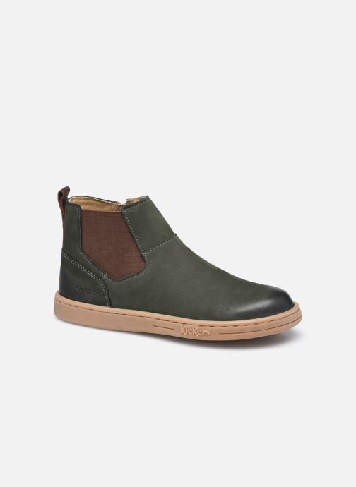 Stiefeletten & Boots Kickers Tackbo grün detaillierte ansicht/modell