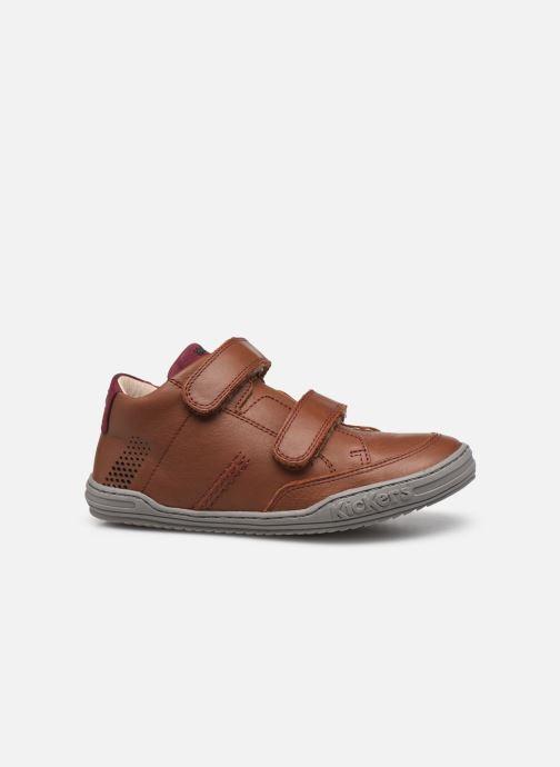 Sneakers Kickers Jouvo Marrone immagine posteriore