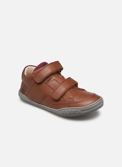 Sneakers Kickers Jouvo Marrone vedi dettaglio/paio