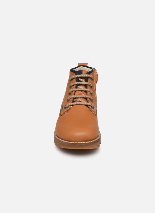 Bottines et boots Kickers Newnobo Marron vue portées chaussures