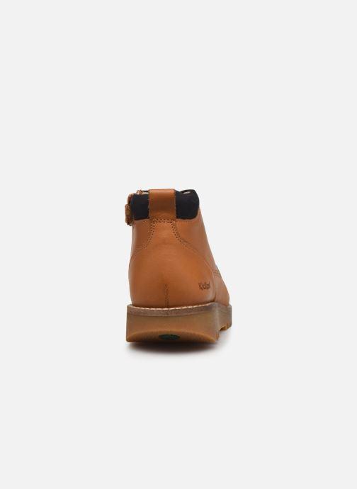 Bottines et boots Kickers Newnobo Marron vue droite