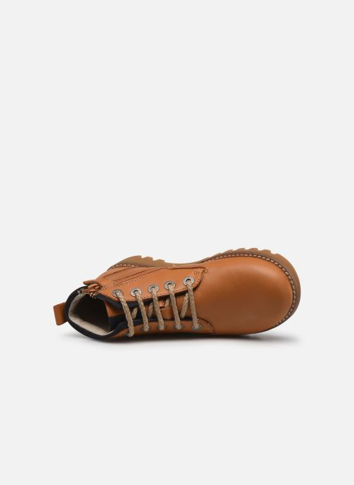 Bottines et boots Kickers Newnobo Marron vue gauche