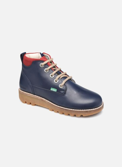 Boots en enkellaarsjes Kickers Newnobo Blauw detail