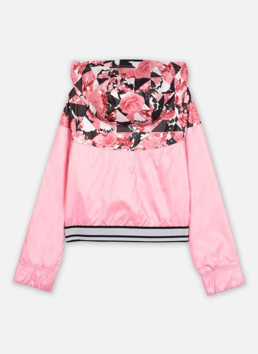 Vêtements Nike Nike Sportswear AOP Windrunner Jacket Rose vue portées chaussures