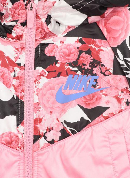 Vêtements Nike Nike Sportswear AOP Windrunner Jacket Rose vue face