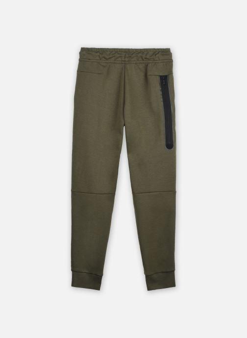Vêtements Nike Nike Sportswear Tch Flc Pant Vert vue portées chaussures