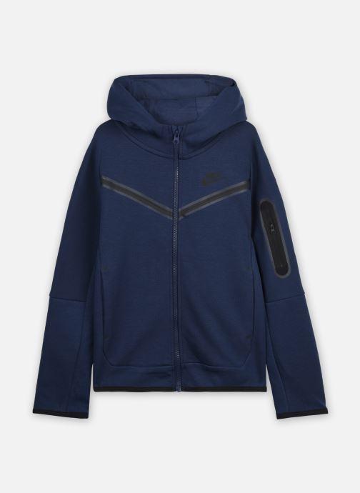 Ropa Nike Nike Sportswear Tch Flc Fz Azul vista de detalle / par