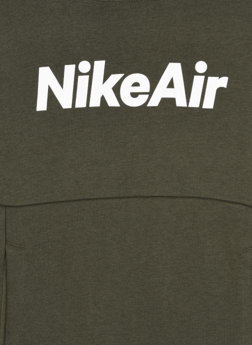 Vêtements Nike Nike Sportswear Nike Air Ft Po Hoodie Vert vue face