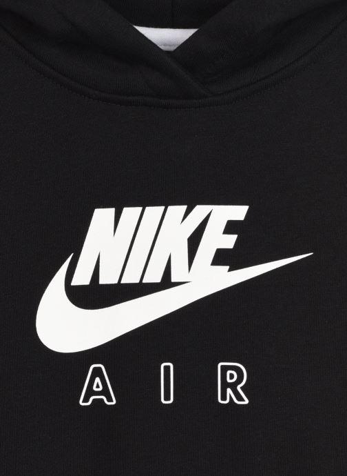 Vêtements Nike Nike Sportswear Air Crop Hoodie Noir vue face