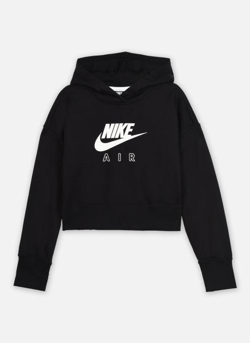 Vêtements Nike Nike Sportswear Air Crop Hoodie Noir vue détail/paire