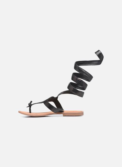 Sandalen Gioseppo SERPENTE Zwart voorkant