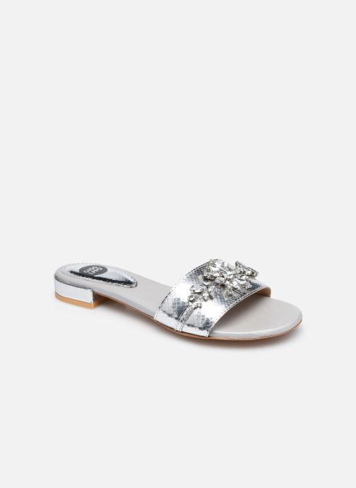 Wedges Gioseppo 44229 Zilver detail