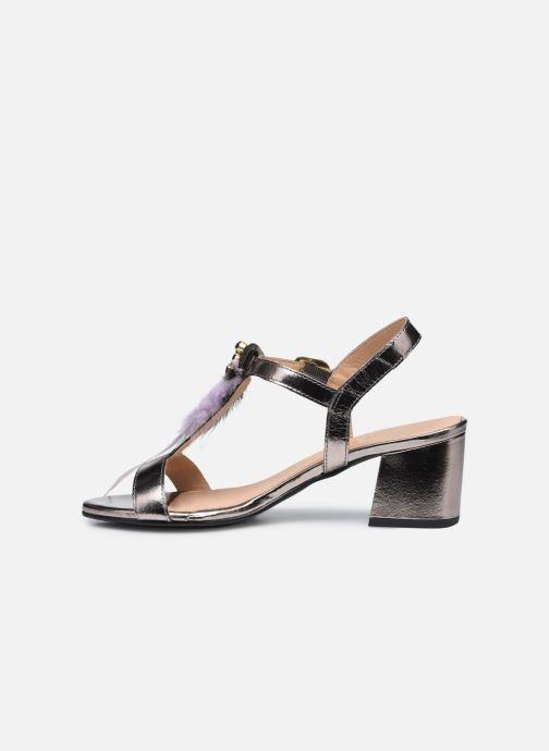 Sandales et nu-pieds Gioseppo 45294 Argent vue face