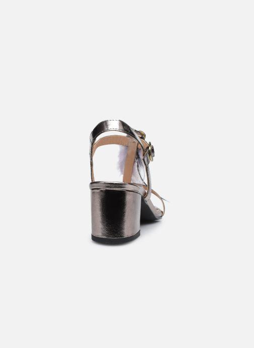 Sandalen Gioseppo 45294 silber ansicht von rechts