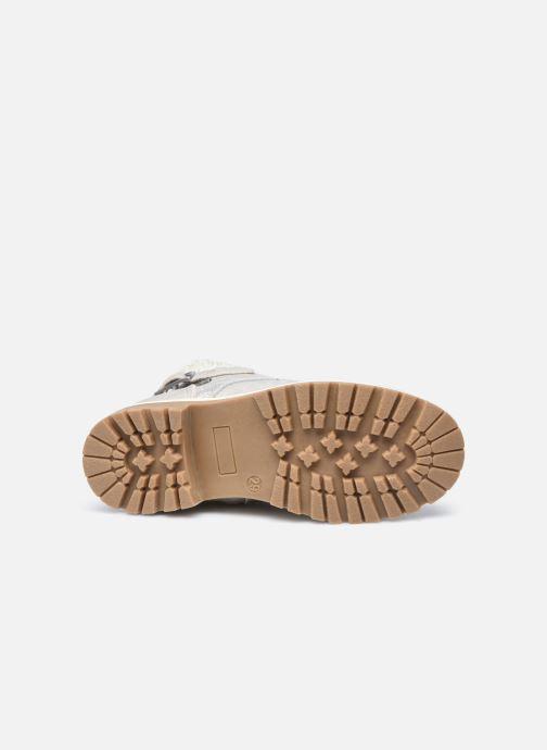 Stivaletti e tronchetti I Love Shoes SUZETTE Grigio immagine dall'alto