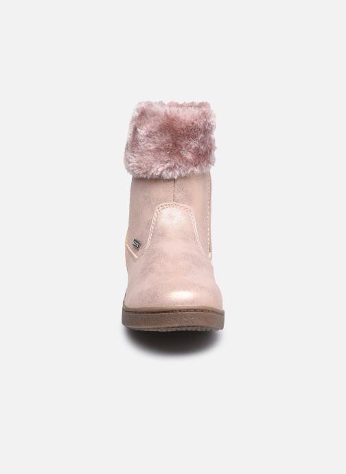 Bottines et boots I Love Shoes SAHONA Rose vue portées chaussures