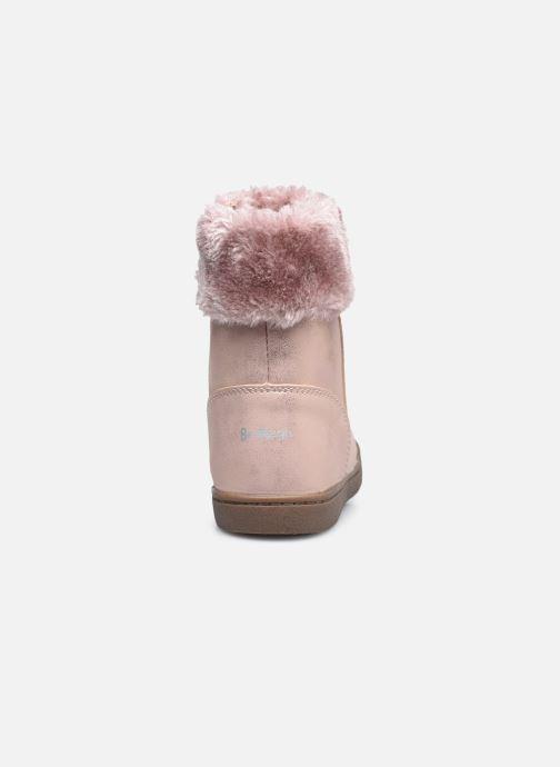 Bottines et boots I Love Shoes SAHONA Rose vue droite