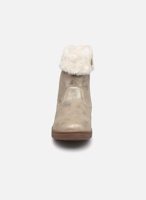 Bottines et boots I Love Shoes SAHONA Or et bronze vue portées chaussures