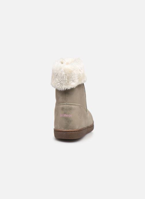 Bottines et boots I Love Shoes SAHONA Or et bronze vue droite