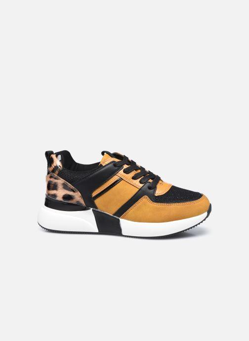 Sneaker I Love Shoes SEBIO gelb ansicht von hinten