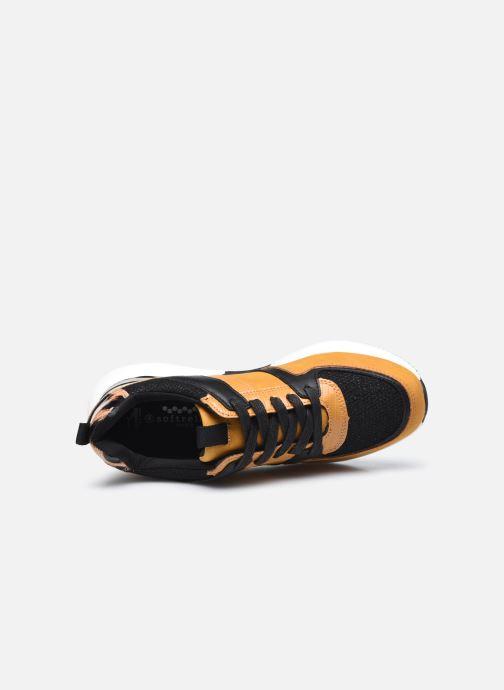 Baskets I Love Shoes SEBIO Jaune vue gauche