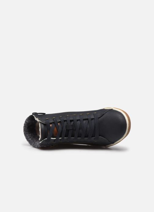 Sneakers I Love Shoes SAUCH Azzurro immagine sinistra