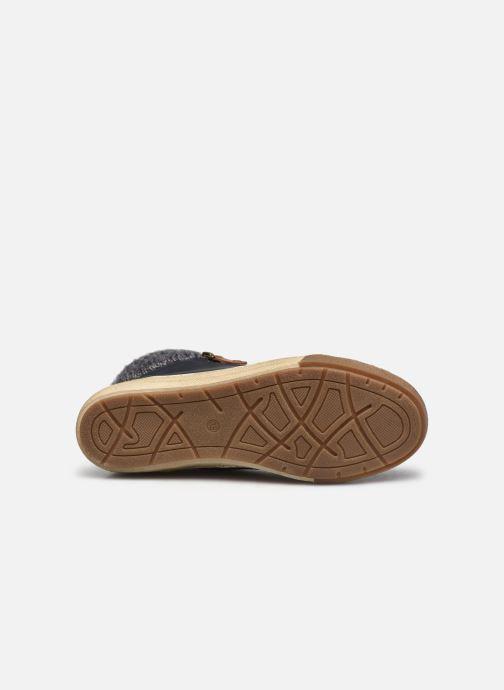 Deportivas I Love Shoes SAUCH Azul vista de arriba