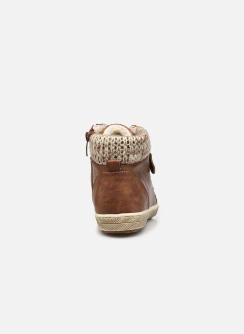 Baskets I Love Shoes SAUCH Marron vue droite