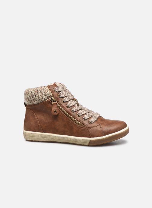 Sneaker I Love Shoes SAUCH braun ansicht von hinten